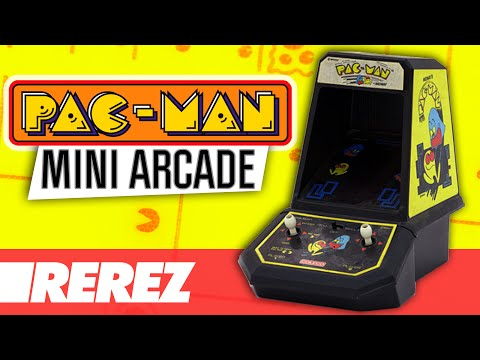 Pac-Man 'Coleco Mini Arcade' Review & Gameplay - Rare Obscure Or Retro - Rerez