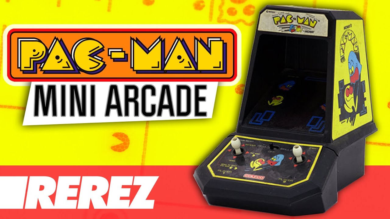 This Pacman Handheld Console Is A Rare Vintage | Walyou