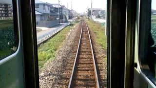 【後面展望】和歌山線 2. 田井ノ瀬~千旦