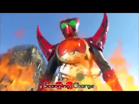 Kamen Rider OOO Combo Change Medley TaMaShii Taka Imagin Shocker