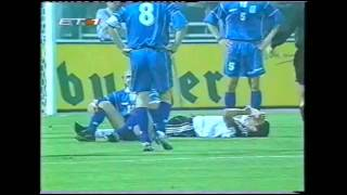 QWC 2002 Greece vs. Germany 2-4 (28.03.2001)