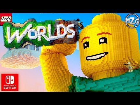 LEGO WORLDS ON THE NINTENDO SWITCH! - LEGO Worlds Nintendo Switch Gameplay!