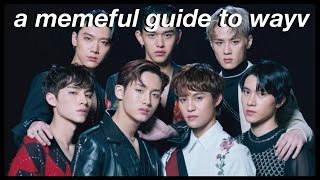 a memeful guide to wayv (predebut edition) | personalities, past activities and positions