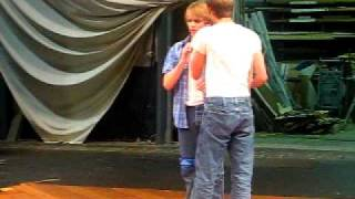 West Side Story Rehearsal- baby john