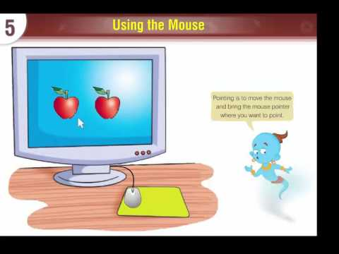 Computer Lesson Five  --  Using The Mouse