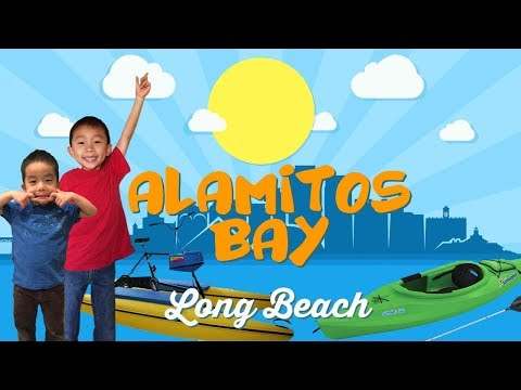First Time Kayaking & Water Bike (Things to do in Long Beach): Traveling with Kids