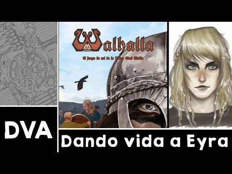 Dando vida a Eyra Gislydottir | Walhalla - Tutorial creación de personaje (con Kumo)