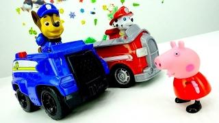 Paw Patrol e Pepра Pig- Giochi con giocattoli educativi