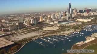 Chicago Aerial -  Skyline, Lakeshore, Downtown, more..