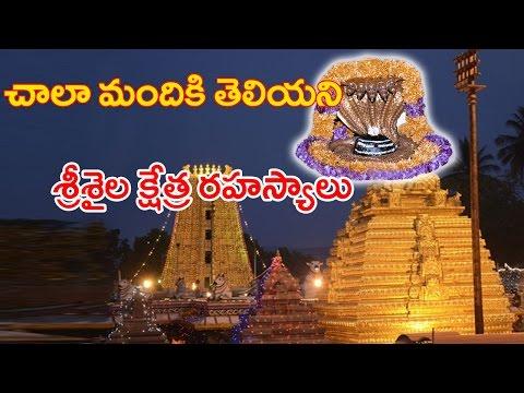 సృష్టి ఆది నుంచి వున్న శ్రీశైల క్షేత్రం గురించిన నిజాలు | Shocking History Behind Srisailam | cc