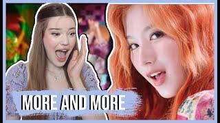 "TWICE(트와이스) ""MORE & MORE"" MV REACTION | Lexie Marie"