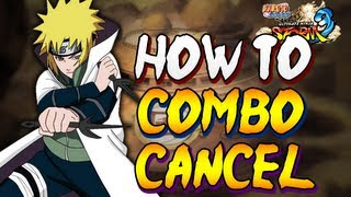 How To Combo/Tilt Cancel In Naruto Storm 3 - With Hands And Inputs