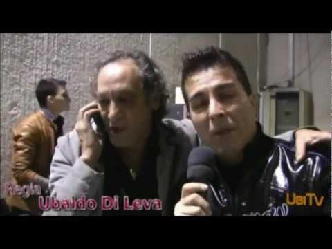 GINO APRILE backstage DISCO DORO