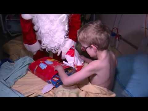 Les enfants hospitalisés du Kremlin-Bicêtre ont aussi le droit à leur Noël