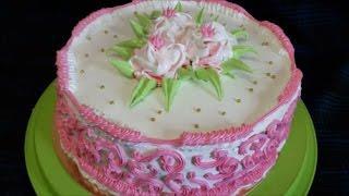 Торт с ПЕРСИКАМИ Рецепт торта Украшение тортов белково заварным кремом Cake decorating(Рецепт под ссылками : ******************************* Ссылка , чтобы ПОДПИСАТЬСЯ на канал : https://goo.gl/ugnR1c ************************************..., 2017-03-12T14:45:11.000Z)