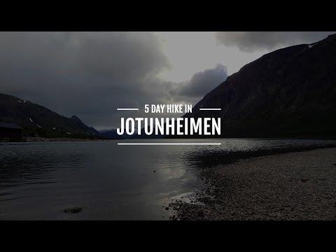 5 days in Jotunheimen