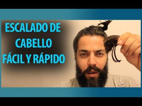 Escalado de cabello largo para hombre | Rápido y sencillo | DIY