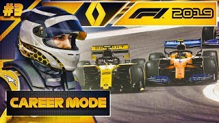 F1 2019 Career Mode Part 3: AMAZING MIDFIELD FIGHT