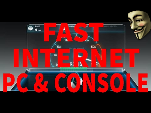 How To Speed Up Your Internet : PC, Laptop, Playstation, Xbox one,Console -  DNS SERVER LIST