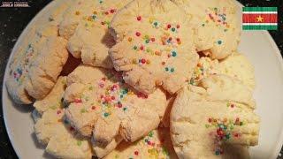Maizena Koekjes / Cornstarch Cookies Recipe