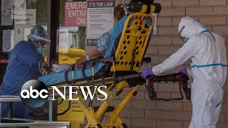 Coronavirus pushes US hospitals to the brink
