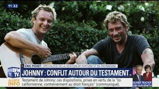 Johnny Hallyday :