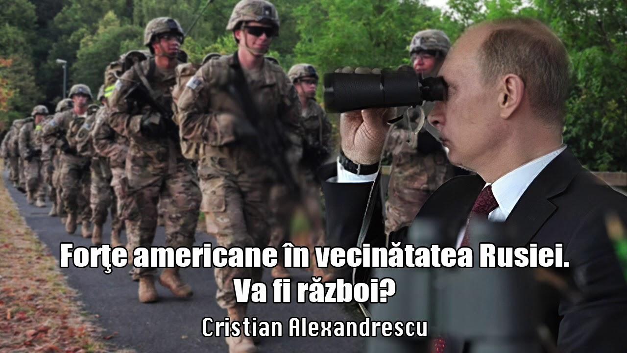 Desfasurari De Forte Americane Chiar In Vecinatatea Rusiei - Va Fi Razboi?