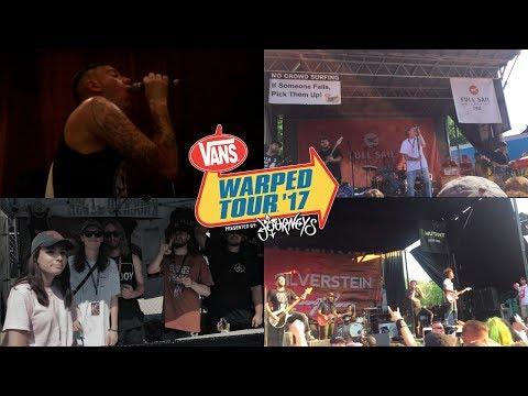 Cuyahoga Falls Warped Tour Vlog 2017