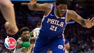 Joel Embiid calls Marcus Smart's shove a 'cheap shot' | NBA Sound