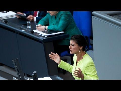 Sahra Wagenknecht, DIE LINKE: Beenden Sie Ihr Konjunkturprogramm für Politikverdrossenheit!