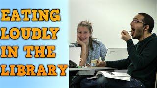 Eating Weird Food Loudly in the Library | Outoja ruokia ja äänekästä syömistä kirjastossa