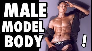 MALE MODEL BODY! My Full Workout and Diet Plan!