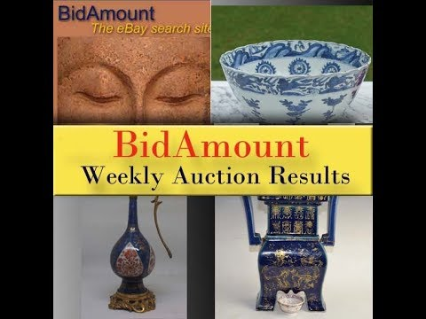 BidAmount Asian Art & Auction Weekly News Letter Auction Results 09/23/17