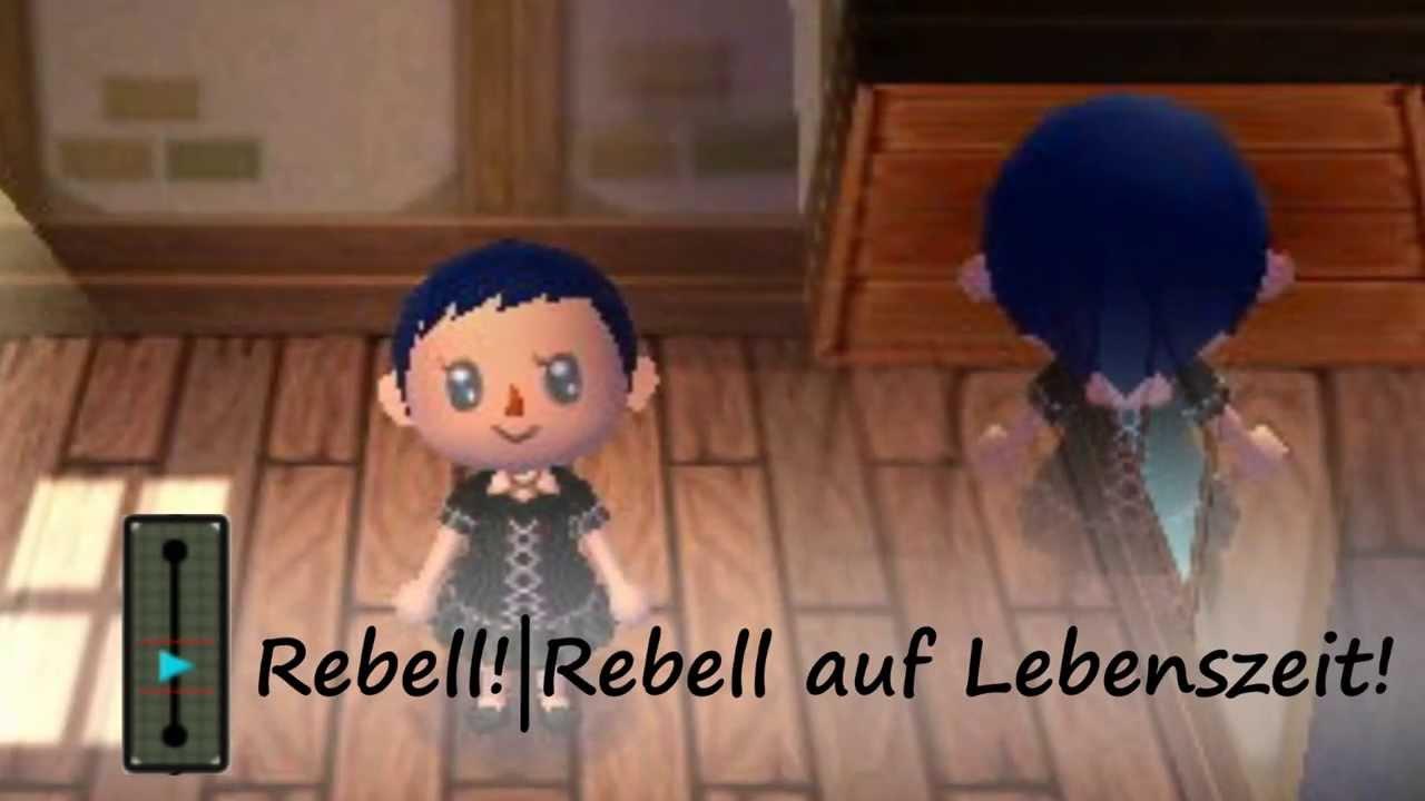 Animal Crossing Mädchen-Frisuren New Leaf - YouTube
