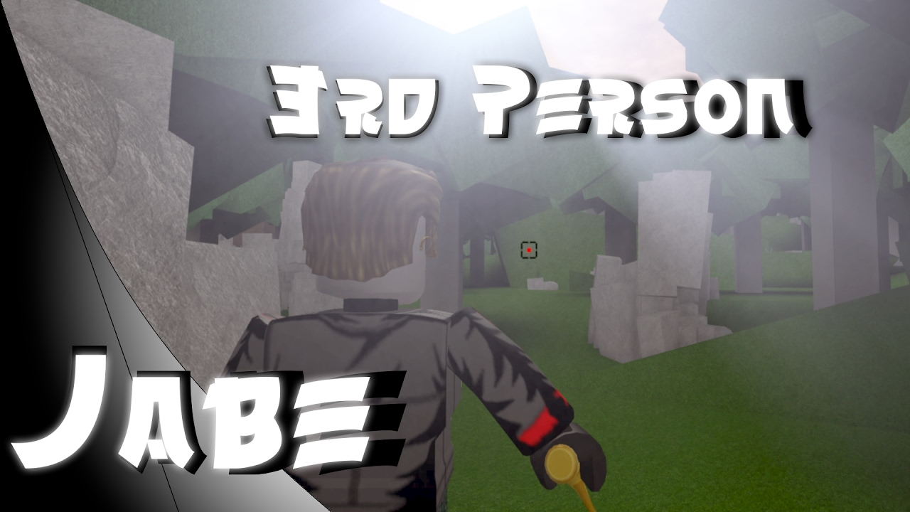 How To Make Third Person On Roblox Easy Outdated Youtube
