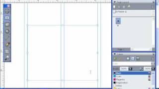 Создание текстового фрейма в QuarkXpress 8 (18/55)