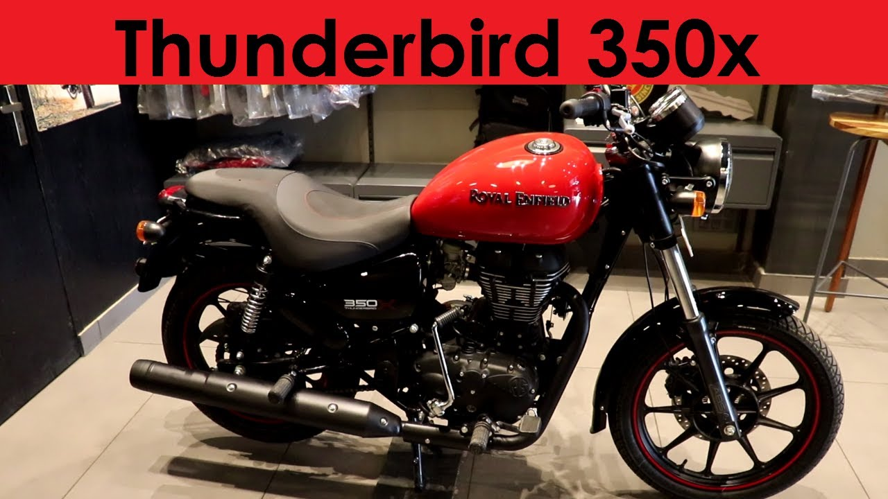 Modified Royal Enfield Thunderbird 350X gets naked