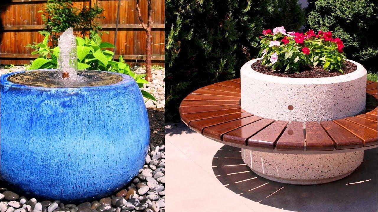Как украсить садовый участок 72 Удивительные идеи / Garden decoration ideas / A - Video