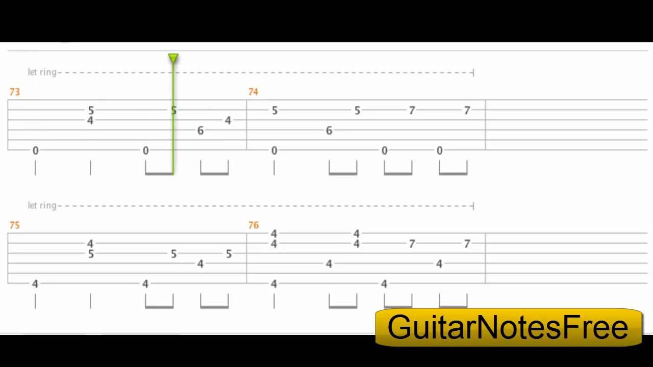 2ne1 Lonely Sungha Jung Guitar Tab Hd Youtube