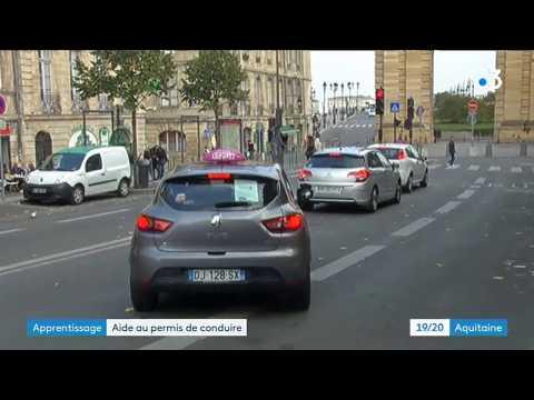 Apprentis et candidats au permis de conduire, ils attendent toujours l'aide promise par l'Etat - - France 3 Nouvelle-Aquitaine