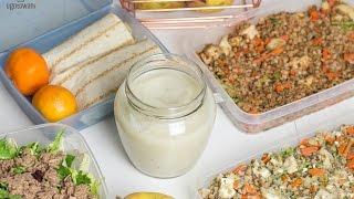 Posiłki na cały tydzień do pracy - Zamiast kanapki do pracy   Ugotowani.tv HD