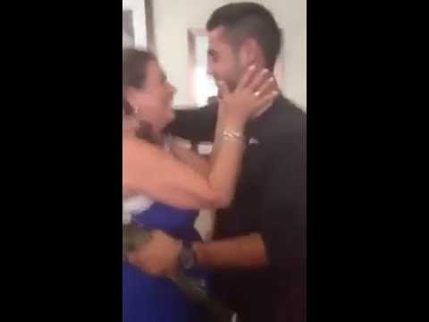 Soldier Suprises His Mom for the Holidays!