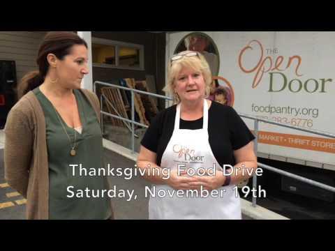 Donating Turkeys to the Open Door Food Pantry in Gloucester