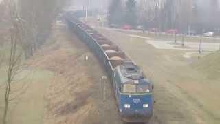 Inauguracja przewozów kruszywa do Hrubieszowa w 2015 r.