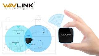 Самый маленький wi-fi репитер, точка доступа WAVLINK WS-WN581N2 - настройка и обзор