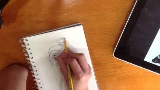 Speed Draw: Vanellope von Schweetz