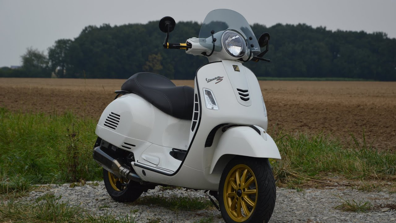 vespa 300 modifications