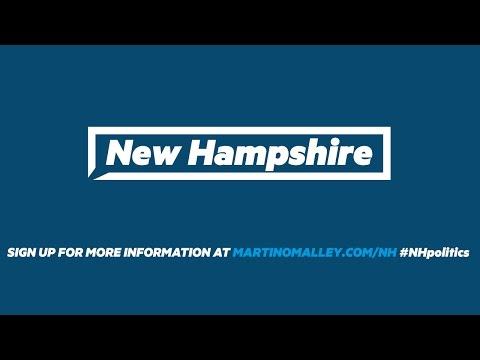 Martin O'Malley in New Hampshire