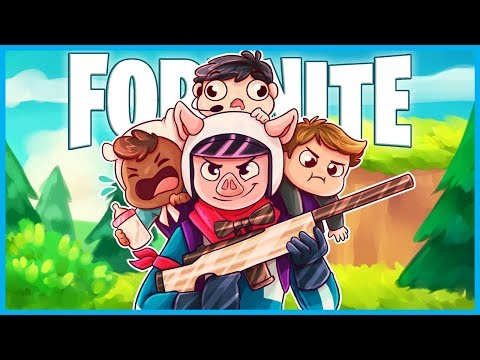 CARRYING MY FRIENDS in Fortnite: Battle Royale! (Fortnite Funny Moments & Highlights)