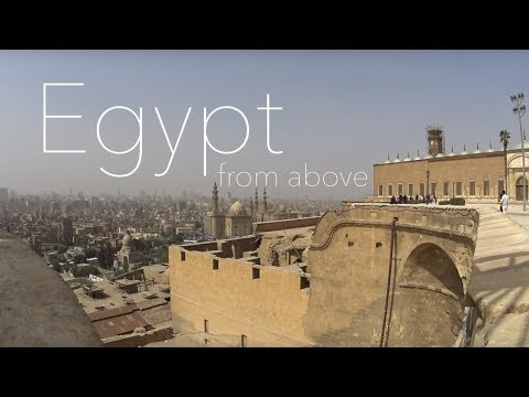 EGYPT from above | drone footage 2018 HD | the vegan travelers